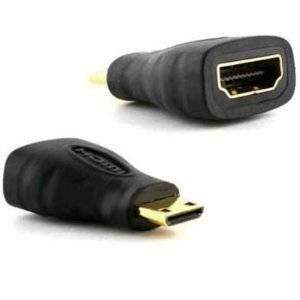 Adapteris Brackton HDMI -> mini HDMI HDMI female-mini HDMI male