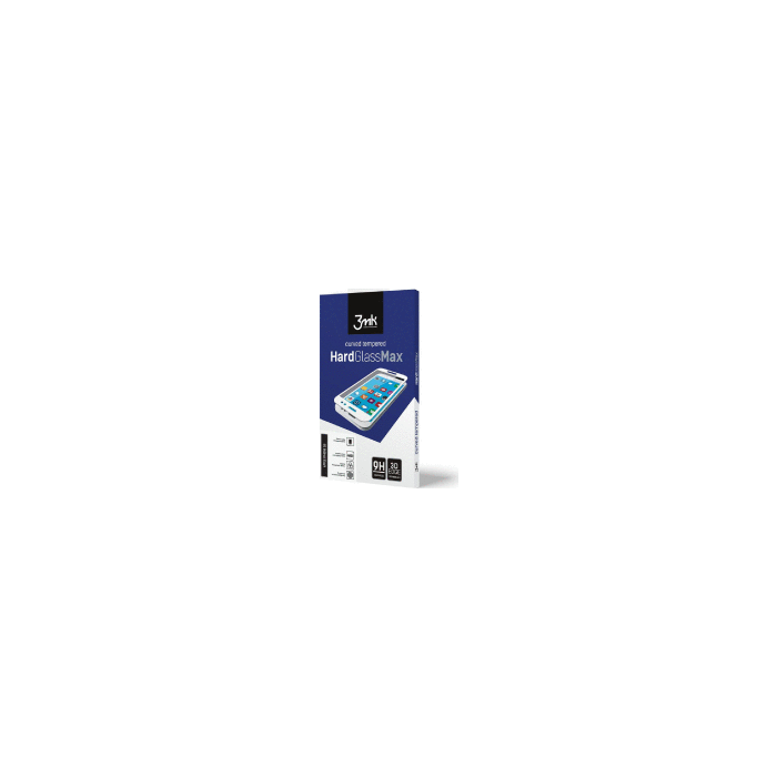 HardGlass MAX iPhone 7 Plus white toughened glass fullscreen 9h