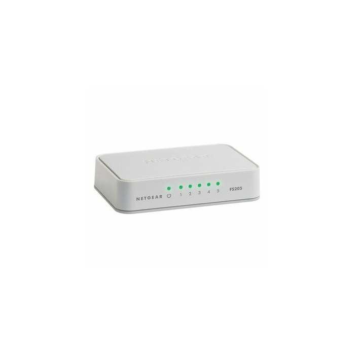 Netgear FS205 Unmanaged White
