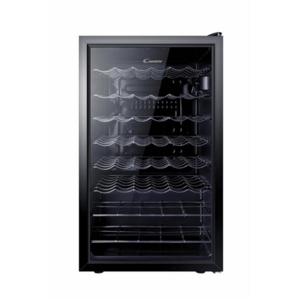 Candy Wine Cooler  CCV 150 SKEU Free standing, Showcase, Bottles capacity 41, Black