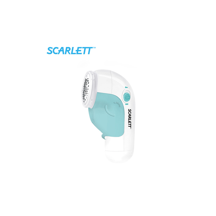 Scarlett Lint Remover SC - 921 White/ mint, Battery