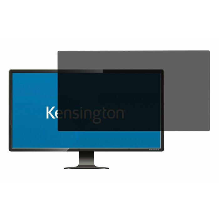 "Kensington privacy filter 2 way removable 19.5"" Wide 16:9"