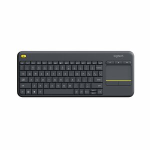 Logitech K400 Plus RF Wireless QWERTY Black