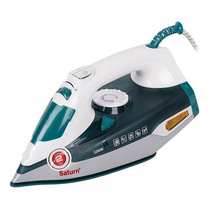 Iron steam Saturn  ST-CC7114 (2200 W; turquoise color)