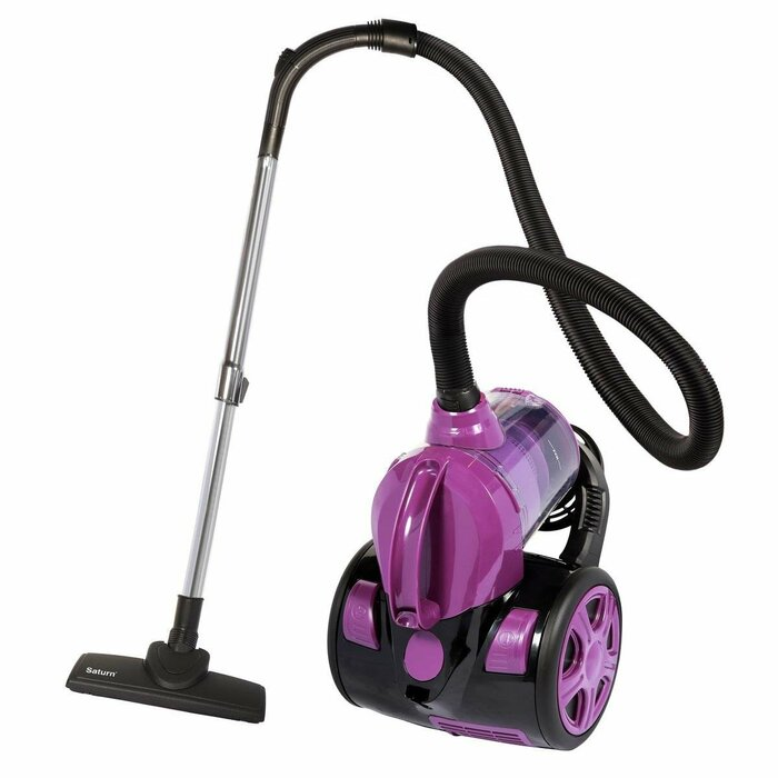 Bagless vacuum cleaner   Saturn  ST-VC0256 (700 W; purple color)