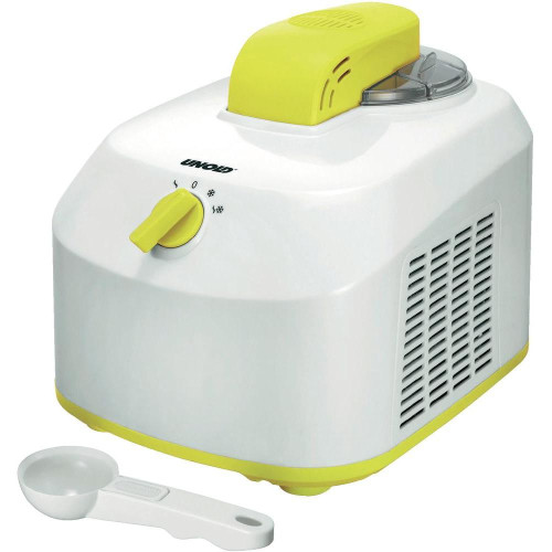 Unold 48879 ice cream maker 1 L White,Yellow 135 W