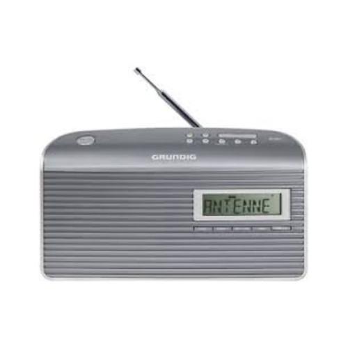 Grundig Music GS 7000 DAB+ radio Portable Analog & Digital Grey,Silver