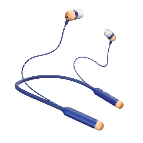 The House Of Marley SMILE JAMAICA mobile headset Binaural Head-band Blue