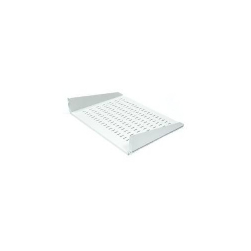 apraNET Equipment shelf 19'', perforated, 2U, 220mm