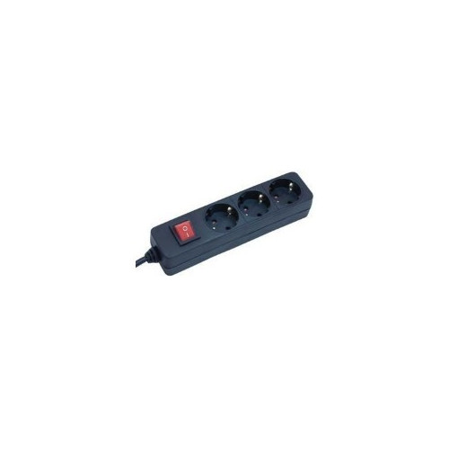 Brennenstuhl 1550600413 power extension 1.4 m 3 AC outlet(s) Black