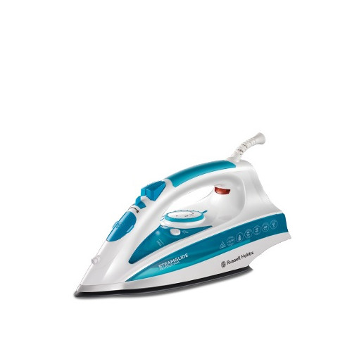 Camry CR 5026/Dry /& Steam Iron Ceramic Soleplate 2200/W Blue White Iron/ /Irons Dry /& Steam Iron, Ceramic Soleplate, Blue, White