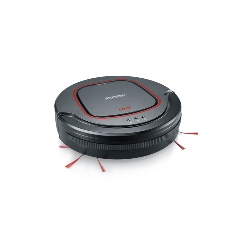 Severin Chill robot vacuum Bagless Black,Grey,Red 0.35 L