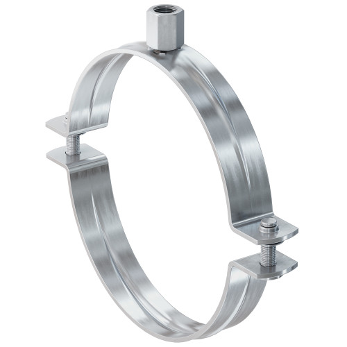 Fischer FRSN Pipe clamp Stainless steel