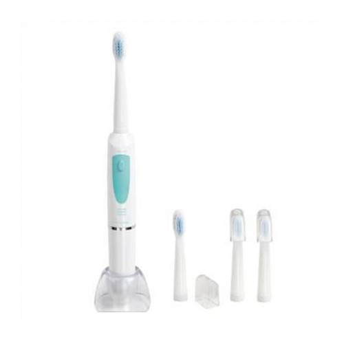 DomoClip DOS124 Electric toothbrush, 3 functions, Timer, 4 heads included, White