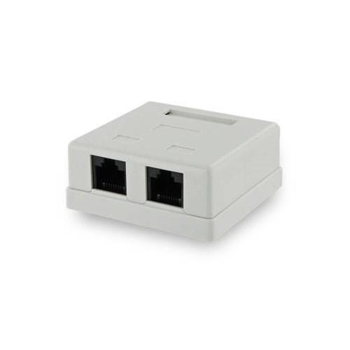 4World 06563 RJ-45 White socket-outlet