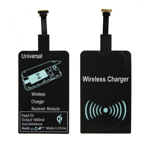 CHARGING ADAPTER QI microUSB type V