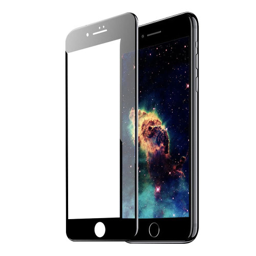 TEMPERED GLASS 6D iPhone 7/8 PLUS 5.5 black