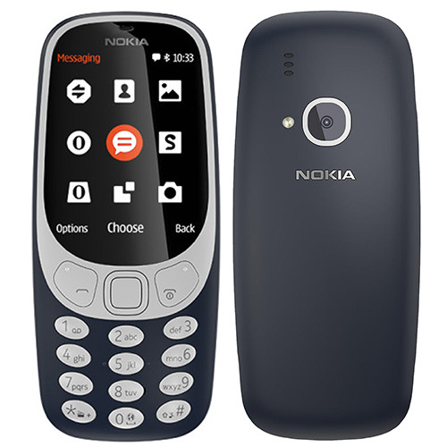Nokia 3310 dark blue ENG DEMO  (6438409600622)