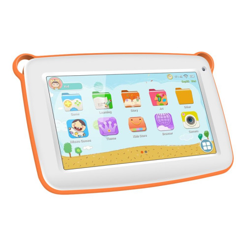 SPONGE Smart 1.3Ghz QUAD Core 7inch 1200x600 8GB 1GB RAM Wi-Fi 0.3Mpix 1.3Mpix Bluetooth 3000mAh Orange