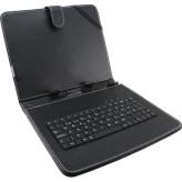 ESPERAZNA EK124 MADERA - Keyboard + Case for 9,7'' Tablet | Ecologic Leather