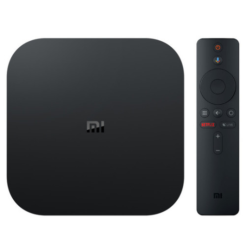 Xiaomi Mi Box S 8 GB Wi-Fi Black 4K Ultra HD