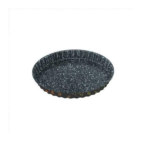 Stoneline 16075 Quiche and fruit cake dish, 28 x 2.9 cm, with prism effect