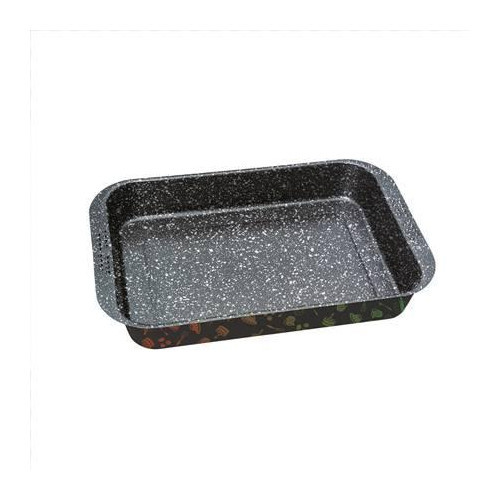 Stoneline 16070 Casserole dish extra deep, 41 x 26.5 cm, with prism effect
