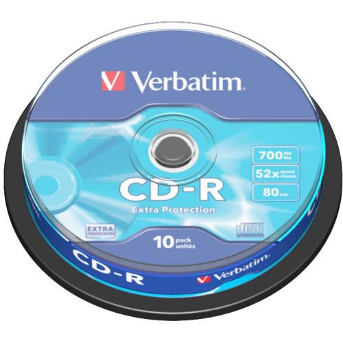 Verbatim CD-R Extra Protection 700MB 52x 10pcs spindle