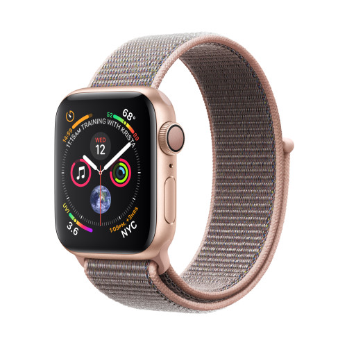 Apple Watch Series 4 smartwatch Gold OLED GPS (satellite)