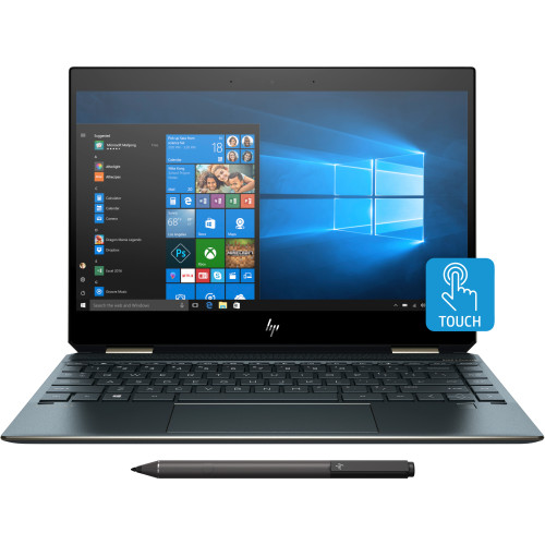 "HP Spectre x360 13-ap0104ng Blue Notebook 33.8 cm (13.3"") 1920 x 1080 pixels Touchscreen 1.6 GHz 8th gen Intel® Core™ i5 i5-8265U"