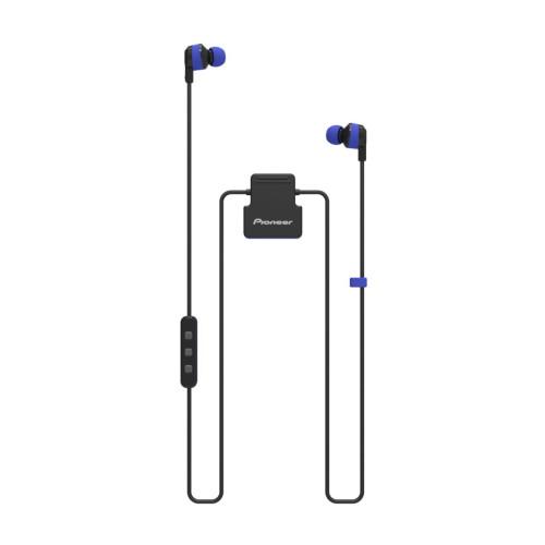Pioneer ClipWear Active mobile headset Binaural In-ear Black,Blue