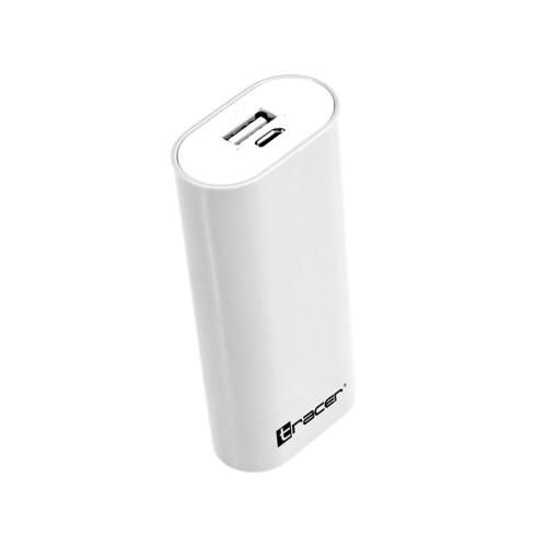 Tracer Mobile Battery 5200mAh V2 white 45045