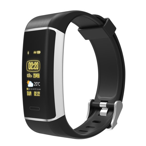 "Denver BFG-550 activity tracker Wristband activity tracker Black IP67 2.44 cm (0.96"")"
