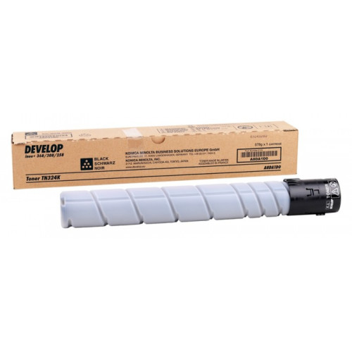 DEVELOP INEO +308 368 TONER Black (TN324K) (A8DA1D0)
