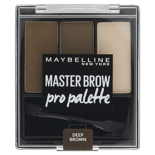 Cosmetics kit Maybelline Master Brow Pro Palette Deep Brown Deep Brown (6 g)
