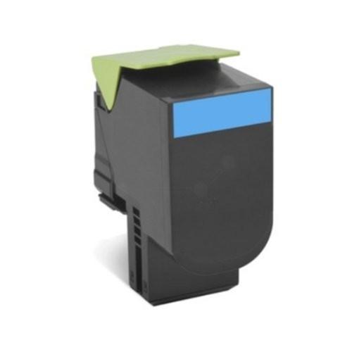 Premium WhiteBox Toner Lexmark 802XC  comp. cyan