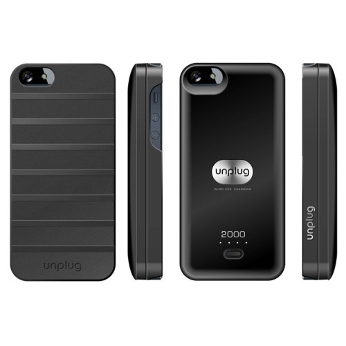 unplug UNAC00049 Magnetic charger back Case for iPhone 5/5s