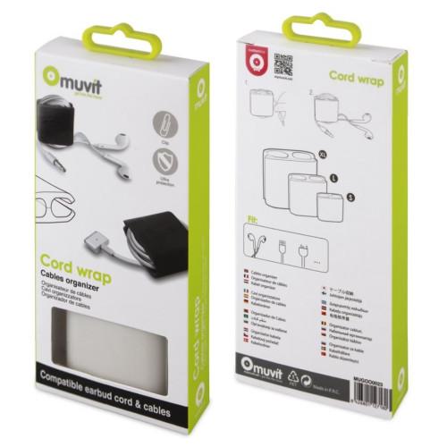muvit MUGOO0023 Cable Organizer 3 sizes (s/m/lxl)