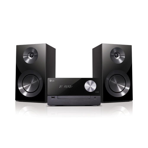 LG CM2460 home audio set Home audio micro system Black 100 W