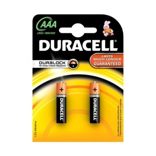 Duracell MN 2400 Basic AAA (LR03) Blistera iepakojumā 2gb.
