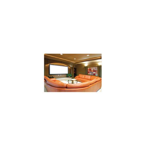 Ligra QADRO velveta rāmja ekrāns, soft grey 160x120 cm