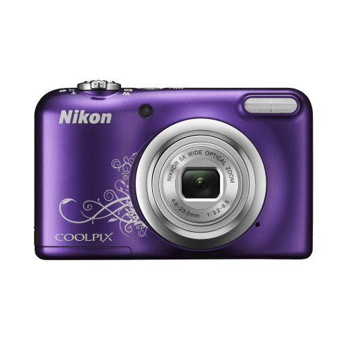 "Nikon COOLPIX A10 Compact camera 16.1 MP 1/2.3"" CCD 4608 x 3456 pixels Purple"