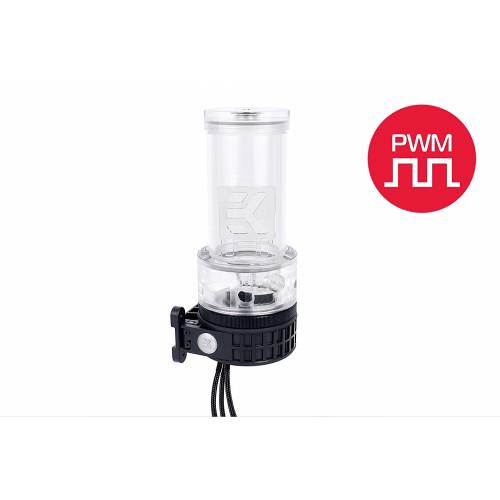 EKWB EK-D5 XRES 140 Revo PWM - Plexi (incl. Pump)(transparent / black)