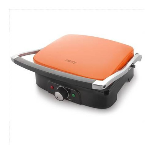Camry CR 6607 Electric grill, Temperature control, Stainless steel body, 1500W, Orange Camry