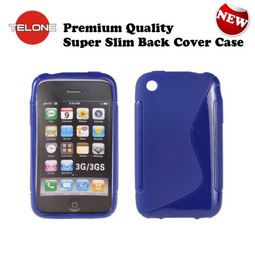 e0d7b105b825f6 Telone Back Case S-Case iPhone 3G / 3GS silicone c... | A-BC-SC-AP-3GS-BL |  Bags and sleeves for smartphones