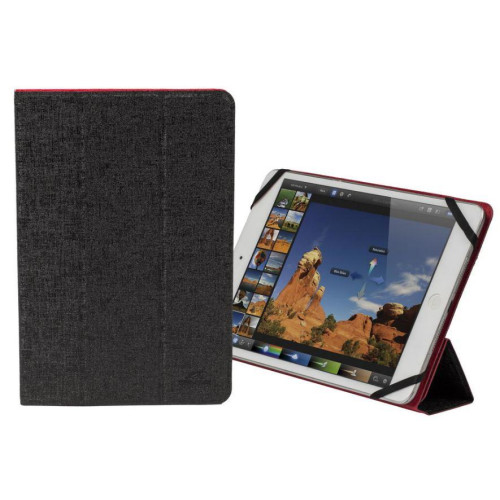 "TABLET SLEEVE MALPENSA 7-8""/3122 RED/BLACK RIVACASE"