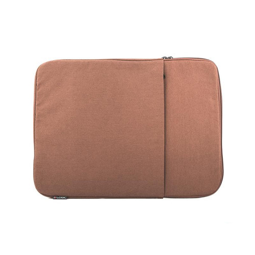 Logic Laptop sleeve PLUSH-14 (15,6'') Brown