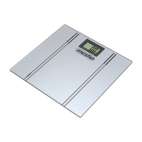 Mesko MS 8144 Bathroom scales, Capacity 150 kg, Graduation 100 g, Big LCD screen, Auto-zero/Auto-off Mesko