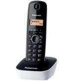 Panasonic KX-TG1611 DECT telephone Black, White Caller ID