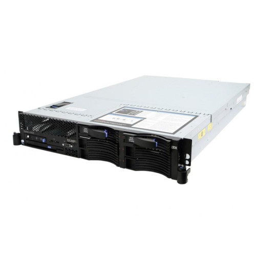 "IBM X3650 2U 1xXEON QC E5405 (2.0GHZ)/ 4GB/2 x 73GB 2.5"" SAS/Combo/2xPSU"